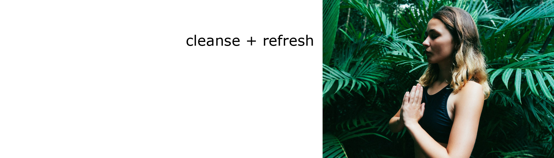 cleanse + refresh